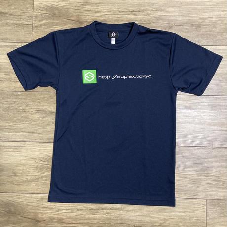 SUPLEXドライTシャツ(ネイビー)