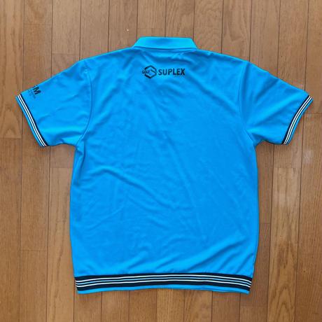 SGMドライポロシャツ(ターコイズ)
