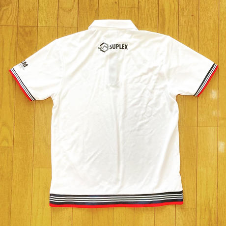 SGMドライポロシャツ(ホワイト)