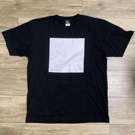 SUPLEXスクエアTシャツ(ブラック)