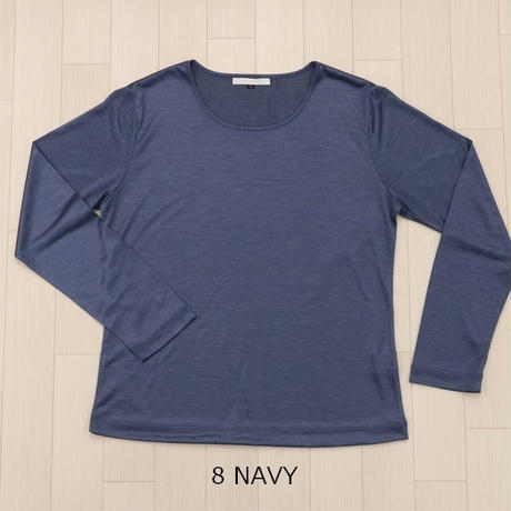 シルクカットソー(Long sleeve T shirt)〚HP1012〛