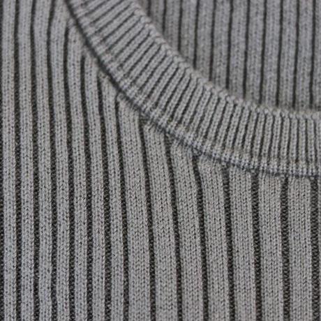 ふわふわシルククルーネックリブセーター〚SW0001〛