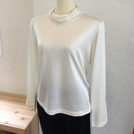 【数量限定】シルクカットソー  (Highneck T shirt)