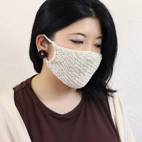 シルク生糸のヴィーナスマスク(インナークロス付き)〚MA1204〛