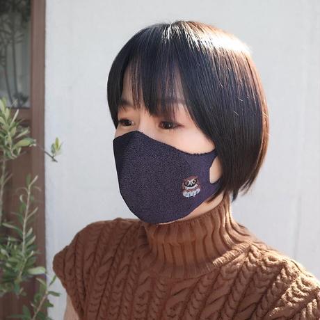 型染めマスク (男女兼用)〚MA1141-D〛  <数量限定販売>