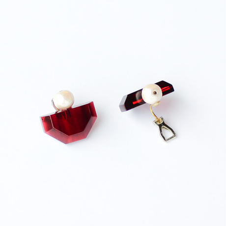 Sur/earrings SR-EA5(RD)