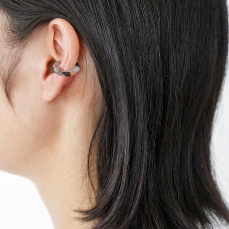 【直営店限定カラー】Sur/ear cuff  SR-EC01 marble01/ イヤーカフ Sサイズ マーブル01 (片売り)
