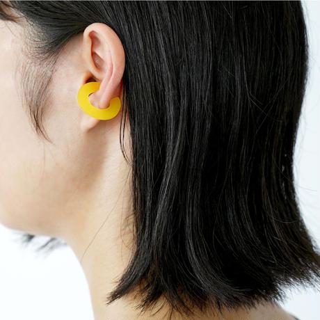 Sur/ear cuff  SR-EC02 yellow / イヤーカフ Lサイズ イエロー (片売り)