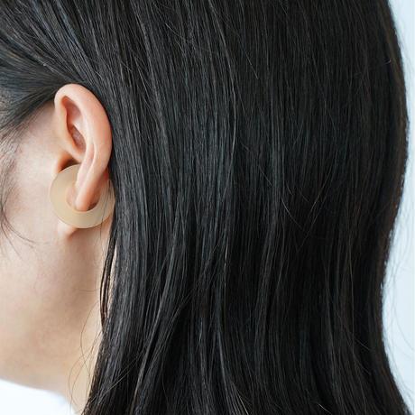 Sur/ear cuff  SR-EC02 beige / イヤーカフ Lサイズ ベージュ (片売り)