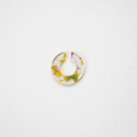 【直営店限定カラー】Sur/ear cuff  SR-EC02 marble02/ イヤーカフ Lサイズ マーブル02 (片売り)