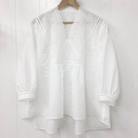 v-neck blouse / 03-9108005