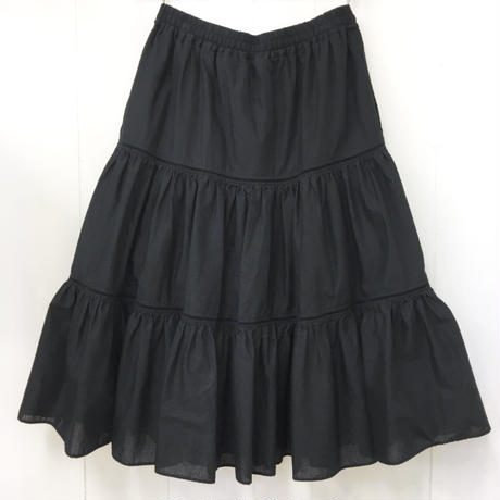 Tiered Skirt / Black