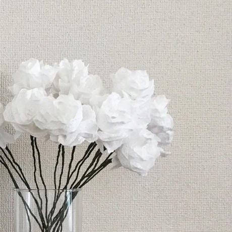 Artificial Flower / Off White