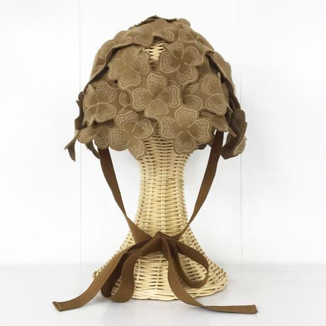 Woven Lace Hat / Light Brown