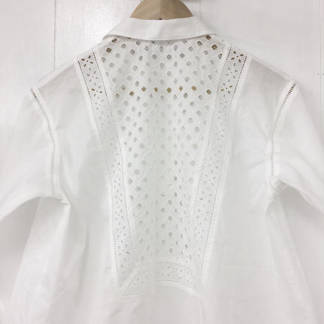 Patched Lace Blouse  / 03-9108004