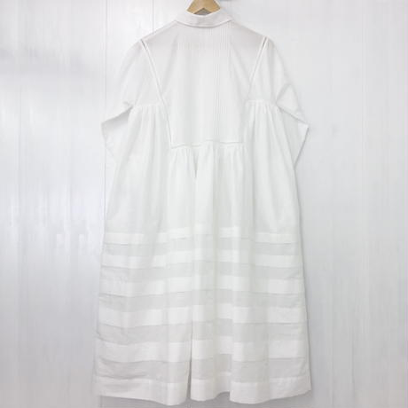 pintuck gathered dress / 03-9105001