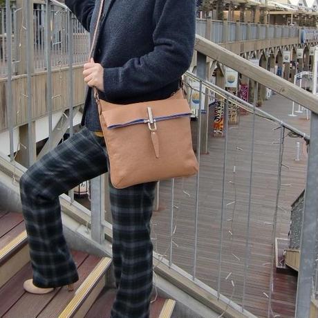 ショルダーバッグ BWS1650B2 アクティブな街歩きバッグ
