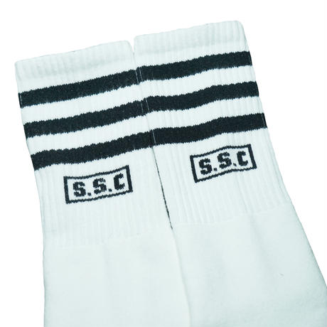 SOCCO × S.S.C Classic Authentic Socks Black