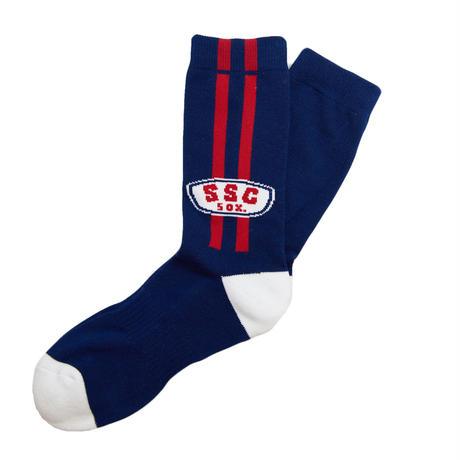 Line Socks NVY