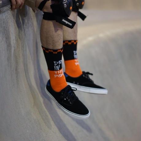 Pool Socks YEL/RED