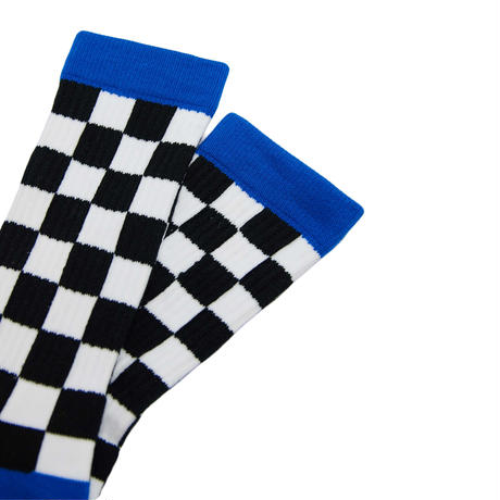 Checker Socks BLK