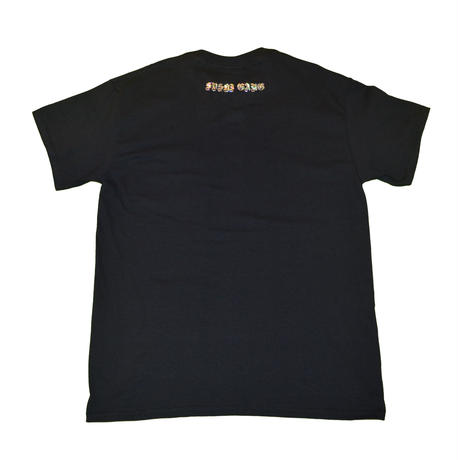 """ONSEN"" pocket T Black"