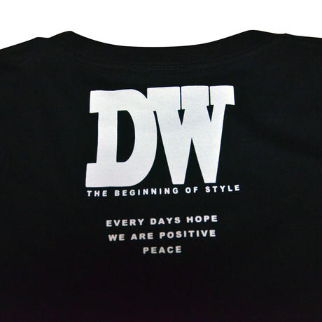 """DAY WALKER"" Long Sleeve Tee BLACK"