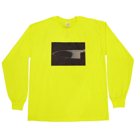 """HOCHO"" L/S Tee Neon"