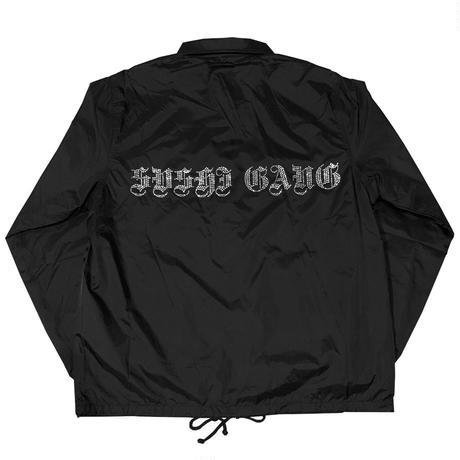 """""""SUSHIGANG"""" Rhinestone coach jacket"""