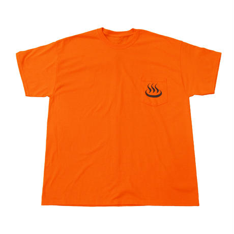 """ONSEN"" pocket T Orange"