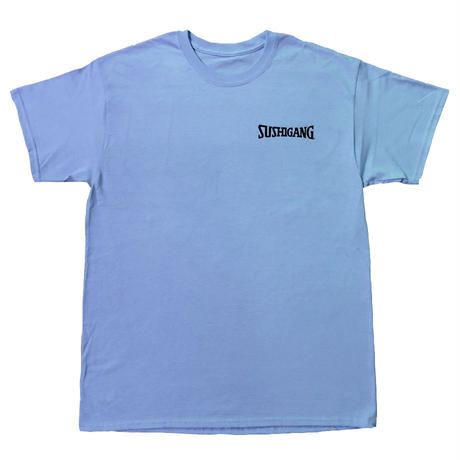 """SUSHIGANG"" Summer T Carolina blue"