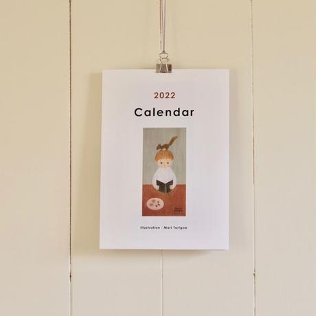 とりごえまり 2022年カレンダー