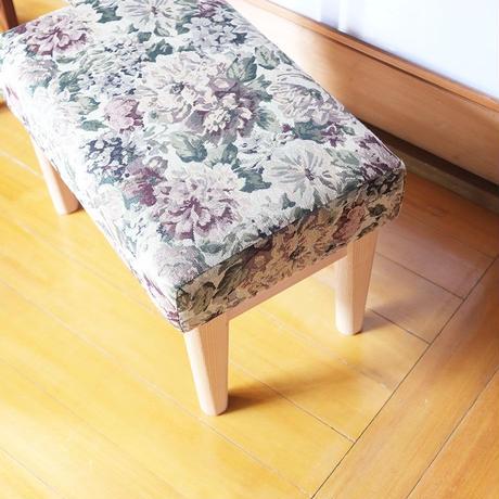 巣巣オリジナル 安楽椅子とオットマンのセット