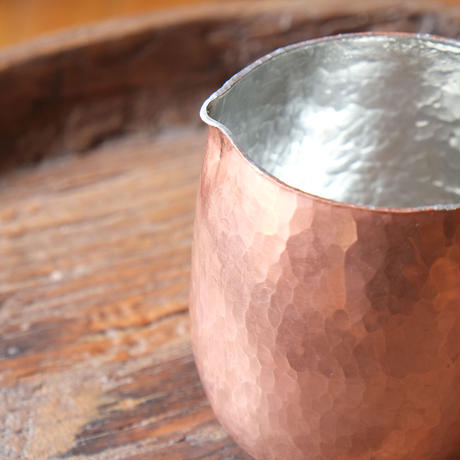 池田晴美 銅のケトル 錫引き