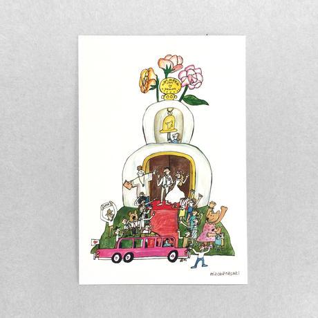 33 POST CARD|HAPPY WEDDING