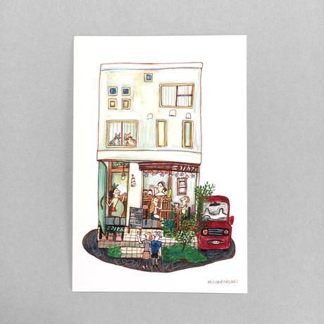 18 POST CARD おいしいと いやしの ニコノカフェ