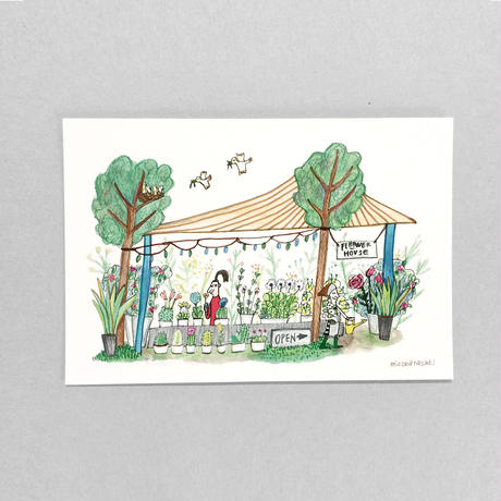 ③POST CARD|良い香り FLOWER HOUSE
