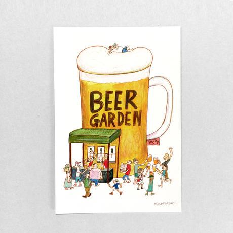 25 POST CARD|みんな仲良くなれるBEER GARDEN  飲めない人も飲めちゃうBEER GARDEN