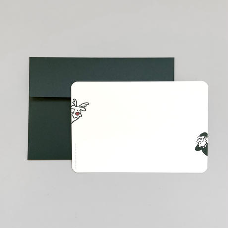 Santa Card Set (green)