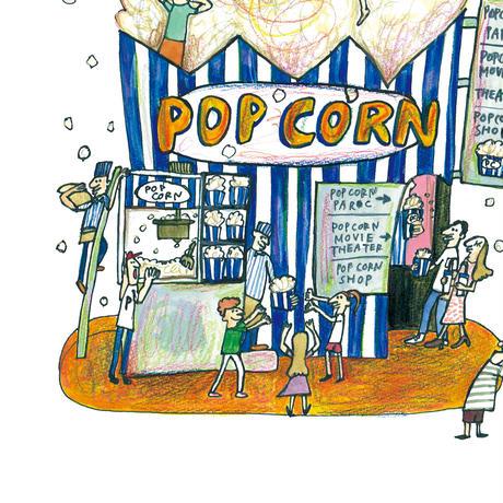 ②POST CARD|はじける POP CORN