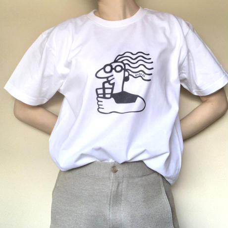 5.6 oz / juice girl  T-shirt / インクジェットプリント