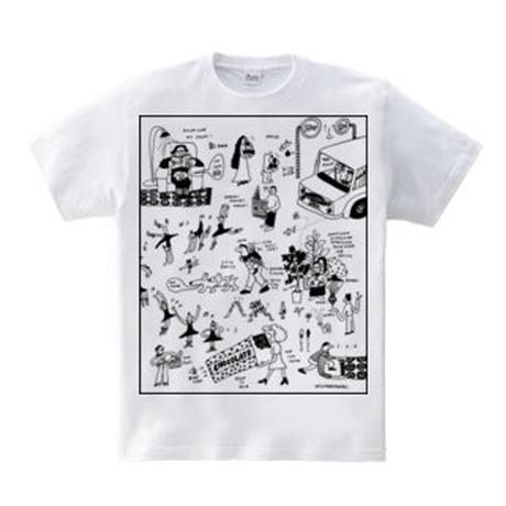 5.6 oz / PEOPLES  T-shirt / インクジェットプリント