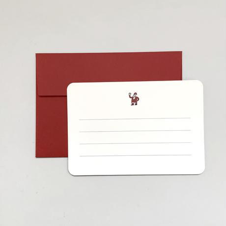 Santa Card Set (red)