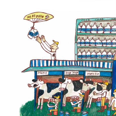 31 POST CARD|乳牛のMOMO FAMILY が暮らすMOMO FARM
