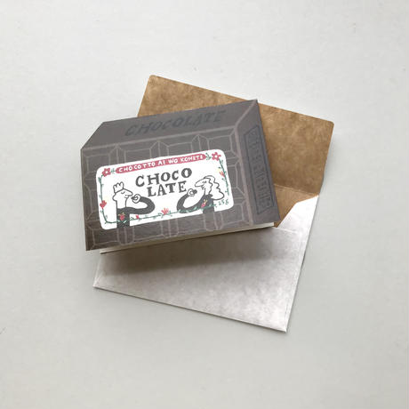 mini Chocolate card set
