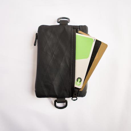 multi pouch(ブラックカム)