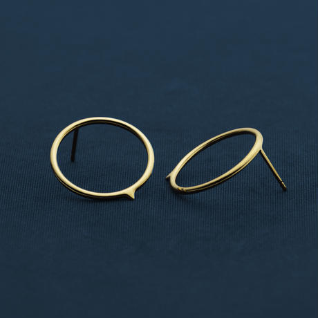 Stithos Earrings (Gold)