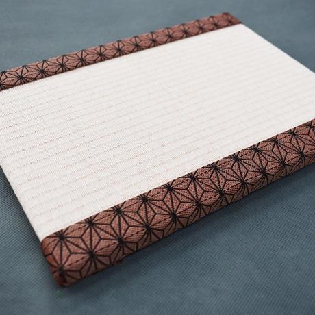 【限定!】ミニ畳 麻の葉模様もも 大人気アニメ仕様 和紙表ver