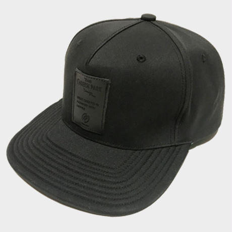 LEATHER WP CAP レザーワッペンキャップ