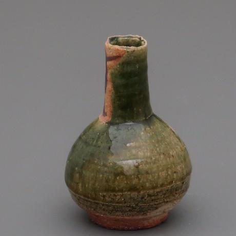 No.117:ORIBE SAKE Bottle「織部徳利」